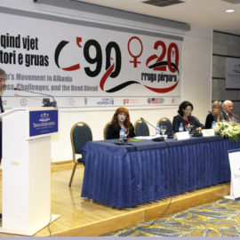 "90+20 – Women's Movement in Albania-The Road Ahead"" on the occasion of 100th Anniversary of National Independence"