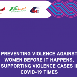 """Evaluation Report: """"Preventing Violence Against Women before it happens – Supporting the Violence cases in Covid-19 times"""""""